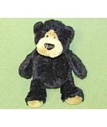 "Gund NUTMEG Jr TEDDY 12"" BEAR AUTUMN FESTIVAL Plush & Bean Bag Black Tan... - $20.79"