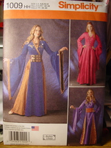 Pattern 1009 Misses Cosplay sizes 6-12 - $7.99