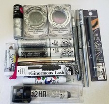 Hard Candy Eye Lip Nail Silver Black Gray Shades Makeup Lot Of 14 Different Pcs - $22.43