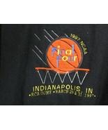 1997 NCAA Final Four RCA Dome Indianapolis Rare Varsity Jacket Medium vi... - $197.99