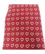 Lands' End Men's Red Hearts Silk Hand Sewn in USA Neck Tie Valentine's D... - $13.06