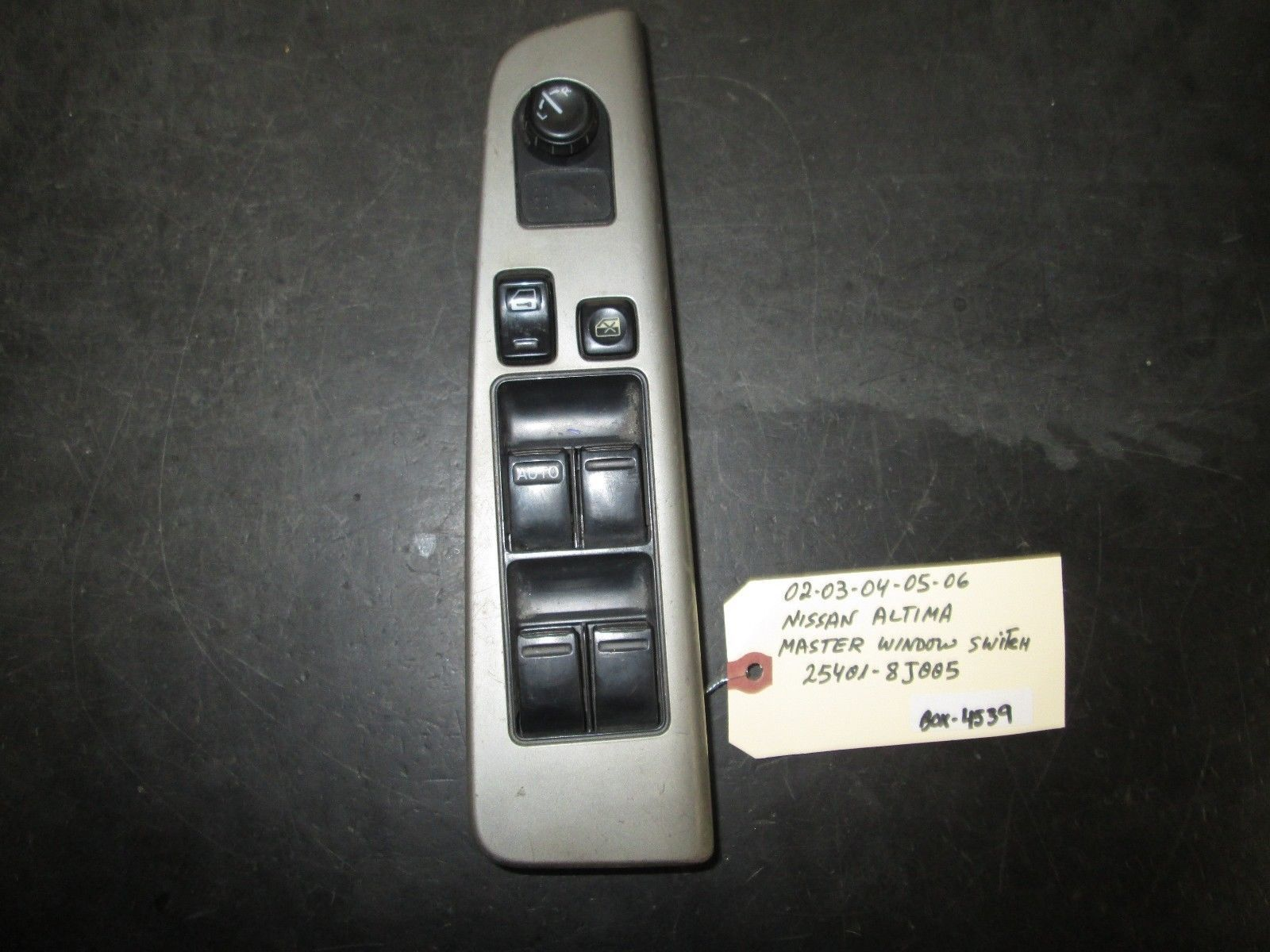 Primary image for 02 03 04 05 06 NISSAN ALTIMA MASTER WINDOW SWITCH #25401-8J005