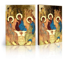 """An item in the Collectibles category: Holy Trinity Icon 6,70"""" x 9,10"""""""