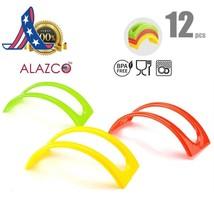 12 Unidades de Colores Apilables Alazco Tacos Soporte para Servir - para... - $9.96+