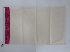 "New Tory Burch Tan Fuchsia Black Cotton Print Large Boots Dust Bag 28"" x... - £13.67 GBP"