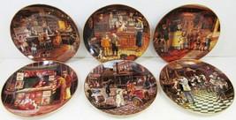 Bygone Days Complete Set of 6 by Lee Dubin Bradford Exchange Porcelain - $275.00