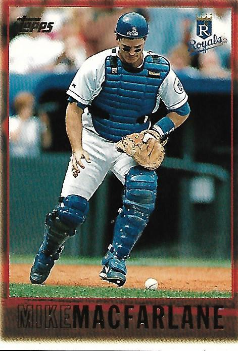 Baseball Card- Mike MacFarlane 1997 Topps #198