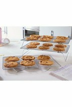 Set Of 3 Stacking Cooling Racks - Cookies not Included  - $11.24