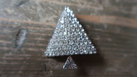 "Vintage 2"" Art Deco Style Christmas Tree Brooch - $19.79"