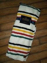 Pendleton 50 X 70 Glacial Park Stripe Reversible Sherpa Fleece Throw Blanket New - $113.56