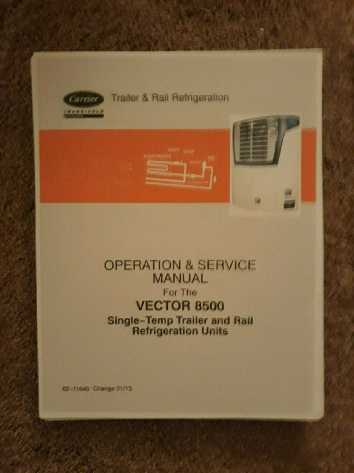 Carrier Transicold Service Repair Manual Vector 8500 Manual Guide