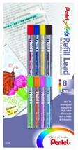 Pentel Arts 8 Colour Refill Lead, Assorted Colors, 8 Pack CH2BP8M - $17.84