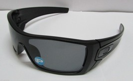 Oakley Batwolf OO9101-04 Matte Black Grey Polarized Shield Sunglasses Ne... - £81.78 GBP