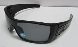 Oakley Batwolf OO9101-04 Matte Black Grey Polarized Shield Sunglasses Ne... - $113.99