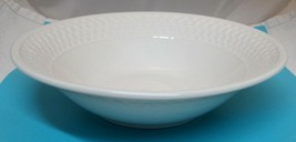 "Oneida Westerly Basket 9 1/4"" Vegetable Bowl Bone White Serving Bowl NICE!  - $39.11"