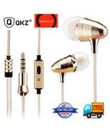 QKZ X7 HiFi Stereo BASS Metal in-Ear Earphone with Microphone - $16.99