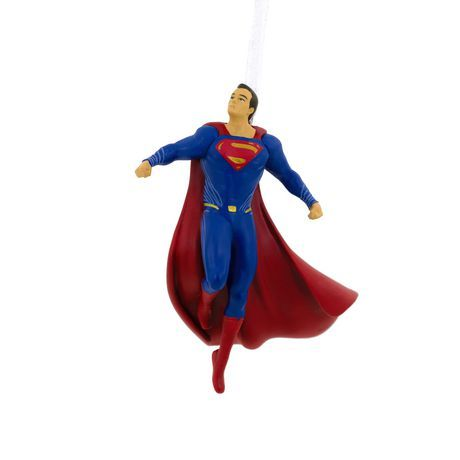 Primary image for 2017 Hallmark DC Comics Justice League Superman Christmas Tree Ornament!
