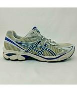 Asics GT-2160 Womens 10 Gel Athletic Running Shoes Mesh Sneaker White Bl... - $27.91