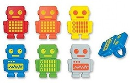 DecoPac Robot Party Cupcake Rings (12 Count) - $16.41