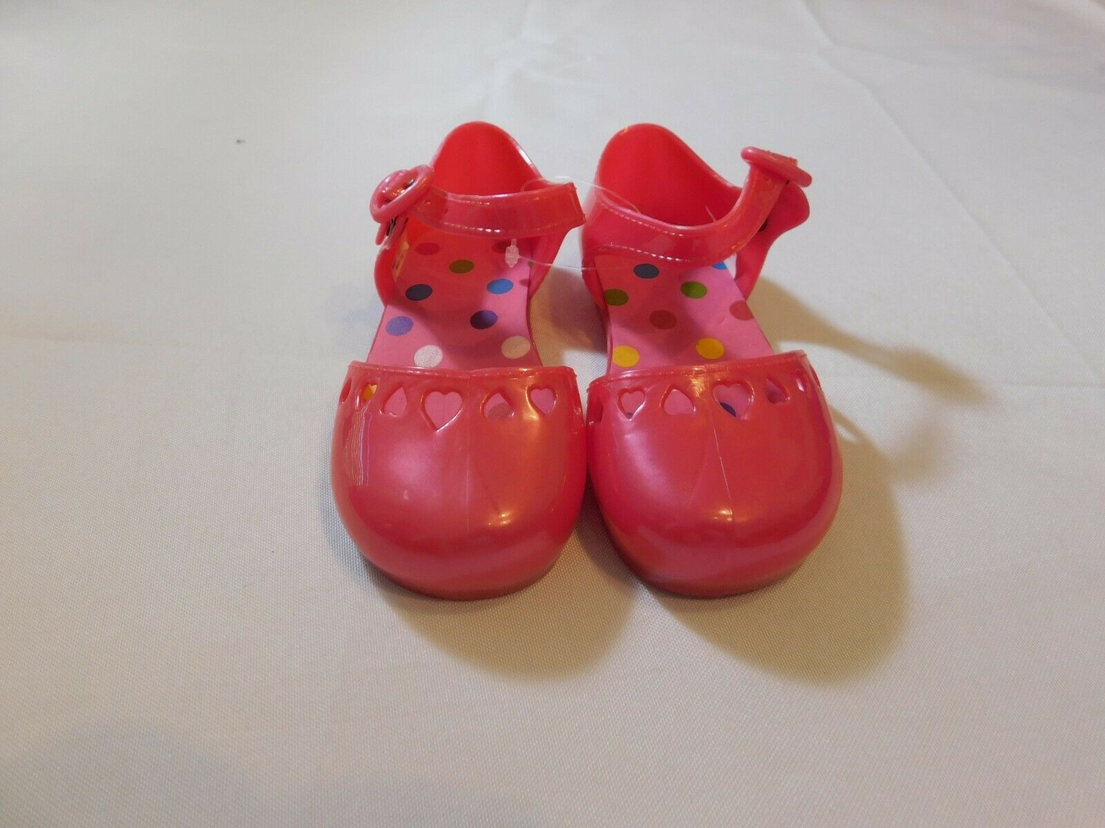 The Children's Place Girl's Youth Sandals Pink Size Variations Hearts NWOT - $13.49