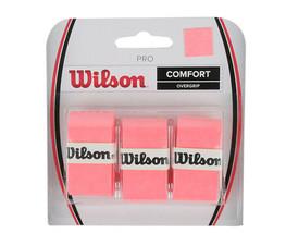 Wilson Tennis Pro Overgrip 3 Pack Orange Comfort Badminton Tape Racket W... - $14.48