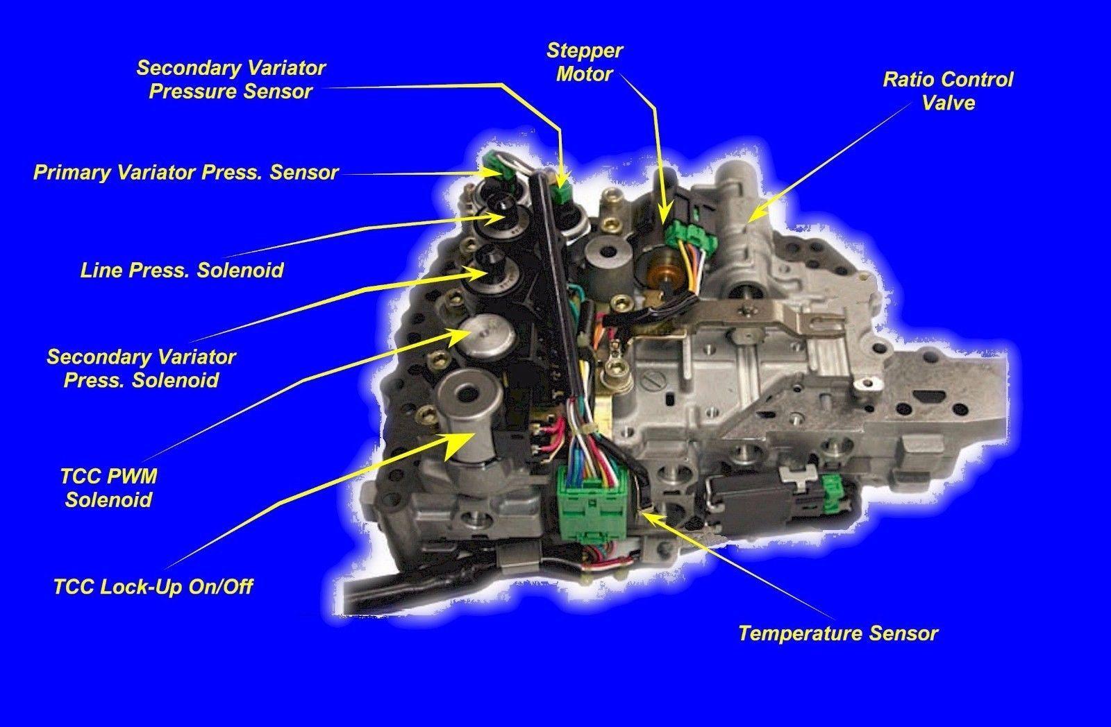Cvt Jf010e Re0f09a 9b Transmission Valve Body Fits Nissan