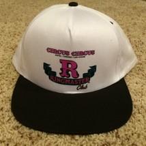 Vtg Snapback Circus Circus Casino Ringmaster Las Vegas Cap Hat Trucker W... - $7.69