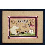 Liberty Birds cross stitch chart The Needle's N... - $7.00