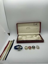 Vintage Timex Cavatina Interchangeable Watch Set As Is - $29.69