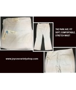 Park Ave Fit Westbound Woman Pants 20R White Soft Comfortable Stretch Waist - $21.99