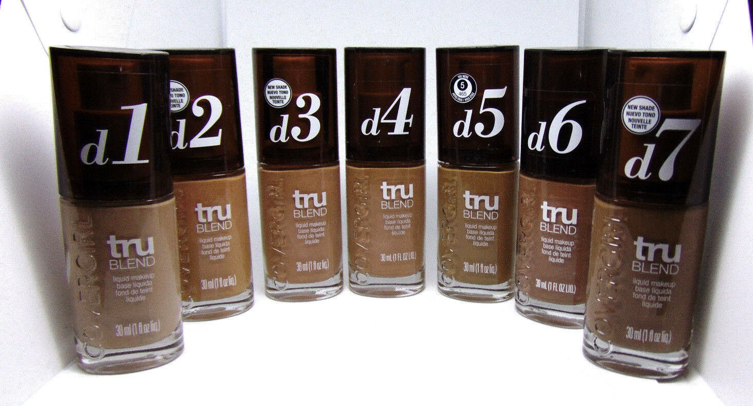 Primary image for COVERGIRL TRU BLEND Liquid Makeup 1.0Fl.oz./ 30ml Choose Shade