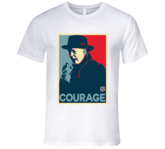 Gord Downie Courage. Obama Hope Poster Inspired  T Shirt - $21.99+