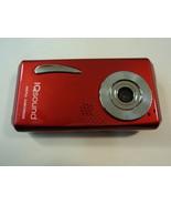 IQsound Digital Camcorder Camera 3 Mega Pixel Red LCD 1.5-in Color IQ-8300 - $20.87