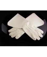 Knight wear / gauntlet glove / leather XL medieval  standard flag bearer  - $55.00