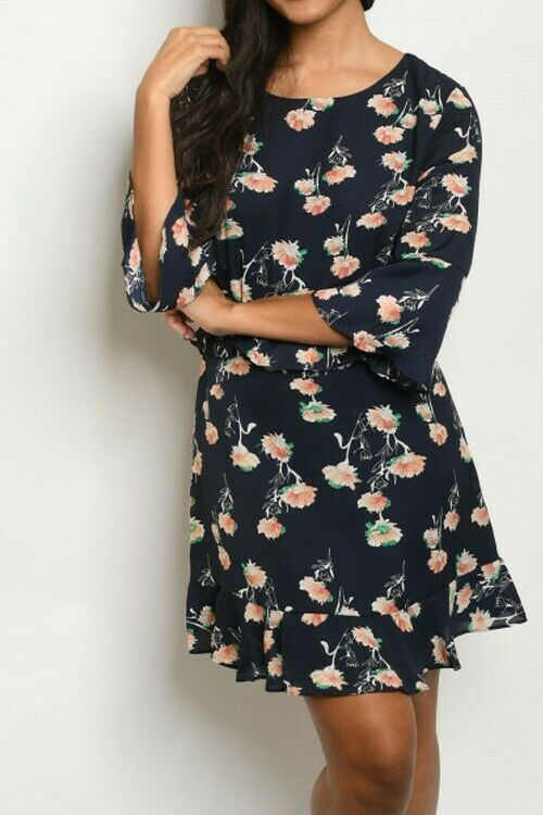 Women Floral Spring Dress