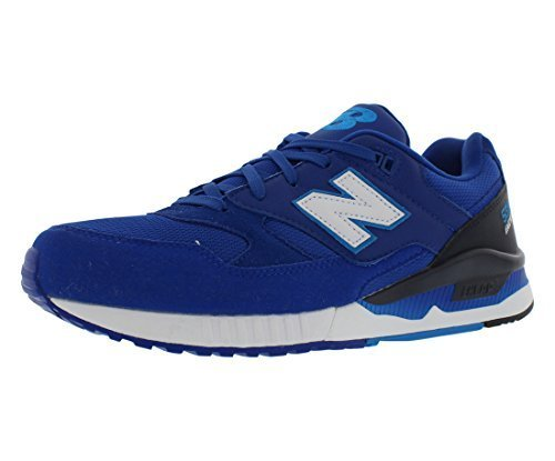 New Balance Men's 530 Summer Waves Collection Lifestyle Sneaker, Blue/Black/Whit