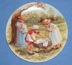 Office Hours Jeanne Down collectible plate Knowles 1984 2nd plate in Down's Frie - $39.99
