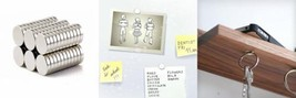 Small Multi-Use Refrigerator Magnets for Refrigerator, Science, Crafts -... - $10.05