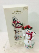 2007 Snowtop Lodge #3 Hallmark Christmas Tree Ornament Box w Tag Still W... - $58.91