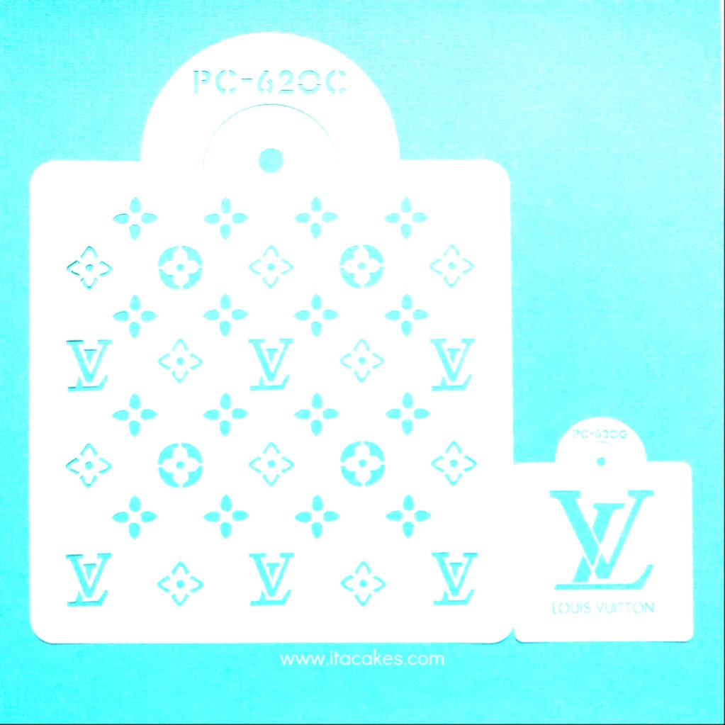 LV Brand Designer Stencil, Fashion Logo And 50 Similar Items