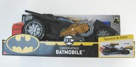 "Batman Batmobile Cannon Attack Toy Car Fires Foam Darts BIG 15"" 2019 BRAND NEW - $23.66"