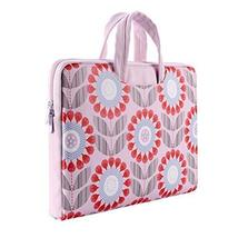 Portable Laptop Computer Briefcase Great Gift for Girl Pink 15 Inches Laptop Bag - $35.04