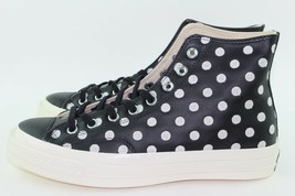 "Converse CTAS ""POLKA DOT"" Men Size: 8.0 Woman size 10.0 Black White New ... - $118.79"