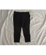 Style & Co Women Mid-rise No Pocket Comfort Waist Pull-on Black Legging ... - $25.97