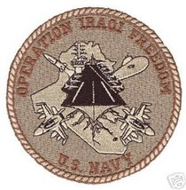 Usn Navy Oif Operation Iraqi Freedom Patch - $13.53