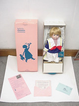 Sailor Boy Collectable Porcelain Doll With Stand  By Marian Yu Design #9... - $34.99