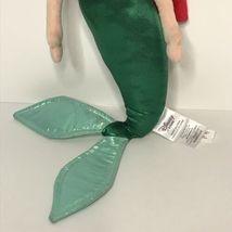 "Disney Store Ariel Little Mermaid Plush Doll Stuffed Toy Princess 18"" image 3"