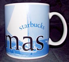 Starbucks Bahamas Coffee Cup 4in Architect Series 2005 Mug City Ocean Boat Tea - $49.99