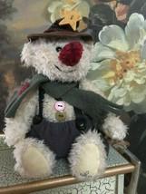 """Ganz Cottage WINTER Bear Artist Lorraine Chien 2002 Retired 10"""" CC11120 - $58.00"""