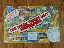 NEW Vtg 1988 Board Game Our Special Friends Visit Harrisburg PA ARC YZ P... - $29.03